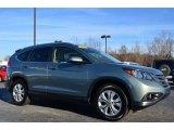 2012 Opal Sage Metallic Honda CR-V EX-L #89882449