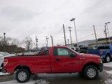 2014 Vermillion Red Ford F150 XL Regular Cab #89882377