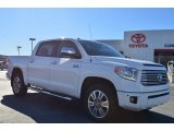 2014 Super White Toyota Tundra Platinum Crewmax #89882443
