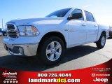 2014 Bright White Ram 1500 Big Horn Crew Cab #89882425
