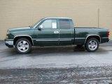 2006 Dark Green Metallic Chevrolet Silverado 1500 LS Extended Cab #8972556