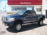 2006 Patriot Blue Pearl Dodge Ram 1500 SLT Quad Cab 4x4 #8964561