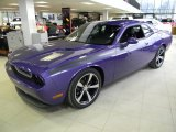 2013 Plum Crazy Pearl Dodge Challenger R/T Classic #89882548