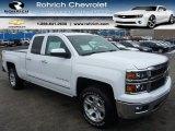 2014 Summit White Chevrolet Silverado 1500 LTZ Double Cab 4x4 #89882719