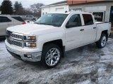 2014 White Diamond Tricoat Chevrolet Silverado 1500 LT Crew Cab 4x4 #89916050