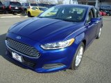 2013 Deep Impact Blue Metallic Ford Fusion SE 1.6 EcoBoost #89915991