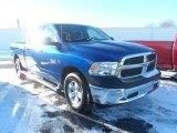 2014 Blue Streak Pearl Coat Ram 1500 Tradesman Crew Cab 4x4 #89916389