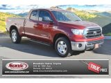 2010 Salsa Red Pearl Toyota Tundra TRD Double Cab 4x4 #89915984