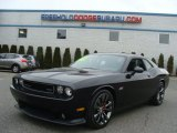 2013 Phantom Black Tri-Coat Pearl Dodge Challenger SRT8 392 #89916377
