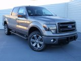 2014 Sterling Grey Ford F150 FX4 SuperCrew 4x4 #89916149