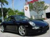 2007 Black Porsche 911 Carrera 4S Coupe #894702