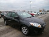 2012 Black Ford Focus S Sedan #89916248