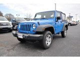 2012 Cosmos Blue Jeep Wrangler Sport 4x4 #89947134