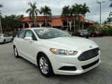 2013 White Platinum Metallic Tri-coat Ford Fusion SE #89946874