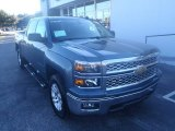 2014 Blue Granite Metallic Chevrolet Silverado 1500 LT Crew Cab #89947256