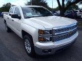 2014 White Diamond Tricoat Chevrolet Silverado 1500 LT Crew Cab #89947255