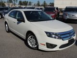 2011 White Suede Ford Fusion S #89947056