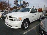 2012 Bright White Dodge Ram 1500 ST Quad Cab #89946852