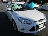 2012 Oxford White Ford Focus SEL 5-Door #89946850