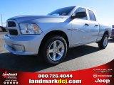 2014 Bright Silver Metallic Ram 1500 Express Quad Cab #89946958