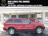 2006 Red Rock Crystal Pearl Jeep Grand Cherokee Limited 4x4 #89946894