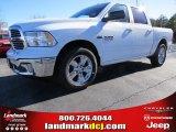 2014 Bright White Ram 1500 Big Horn Crew Cab #89946955