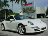 2008 Carrara White Porsche 911 Carrera 4S Coupe #894608