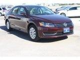 2014 Opera Red Metallic Volkswagen Passat 1.8T Wolfsburg Edition #89947163