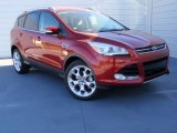 2014 Ruby Red Ford Escape Titanium 1.6L EcoBoost #89947017