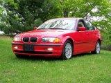 2000 Bright Red BMW 3 Series 328i Sedan #8977760