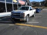 2014 Silver Ice Metallic Chevrolet Silverado 1500 WT Regular Cab 4x4 #89946759