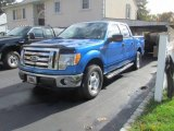 2010 Blue Flame Metallic Ford F150 XLT SuperCrew 4x4 #89981098