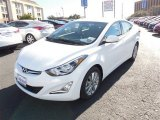 2014 White Hyundai Elantra SE Sedan #89980651