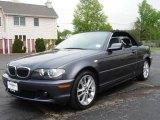 2005 Sparkling Graphite Metallic BMW 3 Series 330i Convertible #8971937