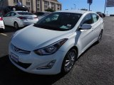 2014 White Hyundai Elantra SE Sedan #89980649