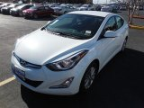 2014 White Hyundai Elantra SE Sedan #89980648