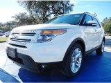 2014 White Platinum Ford Explorer Limited #89980724