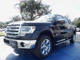 2014 Tuxedo Black Ford F150 Lariat SuperCrew 4x4 #89980718