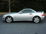 1999 Mercedes-Benz SLK Brilliant Silver Metallic