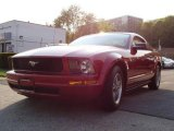 2005 Redfire Metallic Ford Mustang V6 Deluxe Coupe #8957598