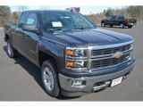 2014 Tungsten Metallic Chevrolet Silverado 1500 LT Double Cab 4x4 #89981001