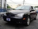 2005 Pitch Black Ford Focus ZX4 SE Sedan #8973783