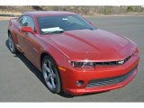 2014 Crystal Red Tintcoat Chevrolet Camaro LT Coupe #89980997