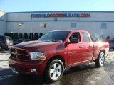 2012 Deep Cherry Red Crystal Pearl Dodge Ram 1500 Express Quad Cab 4x4 #89981064