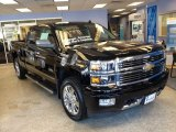 2014 Black Chevrolet Silverado 1500 High Country Crew Cab 4x4 #89980759