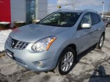 2013 Frosted Steel Nissan Rogue SL AWD #89980922