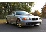 2001 Titanium Silver Metallic BMW 3 Series 325i Convertible #89980563