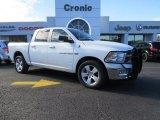 2011 Bright White Dodge Ram 1500 Big Horn Crew Cab 4x4 #89980845