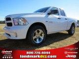 2014 Bright White Ram 1500 Express Quad Cab #90017210