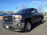 2014 Iridium Metallic GMC Sierra 1500 SLE Double Cab 4x4 #90016973